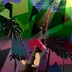 """Climbing the Coconut Tree"" by mokojumbie"