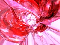 Cherry Splash Abstract
