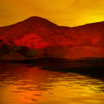 """""""Sunset in Orange"""" by AnneVis"""