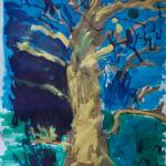 """night tree by mc, age 4"" by jenniferwoodworth"