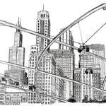 """Chicago Millennium Park - Chicago Art"" by BeaconArtWorksCorporation"