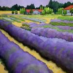"""Lavender Rows"" by studiobythesound"
