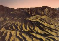 Zabriske Point Sunset