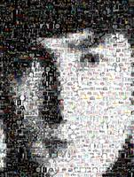 John Lennon...Amazing Montage Mosaic illusion pop