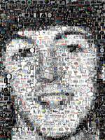 Paul McCartney...Amazing Montage Mosaic illusion p