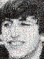 Ringo Starr...Amazing Montage Mosaic illusion pop