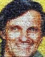 Alan Alda...Amazing Montage Mosaic illusion pop ar