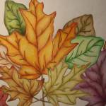 """autumn leaves"" by artista"