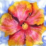 """Groovy Hibiscus 1"" by GayelaChapman"