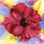 """Groovy Hibiscus 2"" by GayelaChapman"