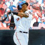 """Barry Bonds"" by le_shelton"