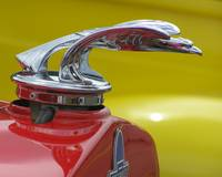 1931 chevy eagle red yellow