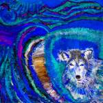 """Blue Wolf"" by lorrael"