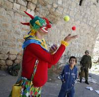 Purim in Hebron