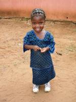 Young Zambian girl