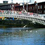 """Halfpenny bridge, Dublin, Ireland"" by Aureliephotography"