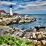 """On a Clear Day--Portland Head Light"" by DigiPix"