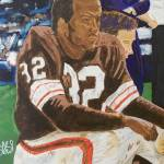 """Jim Brown"" by le_shelton"