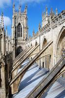York Minster Buttresses