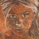 """""""Angel In Process II Headshot"""" by HoedlGicleeFineArtPrints"""
