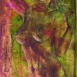 """Angel In Tie Dye"" by HoedlGicleeFineArtPrints"