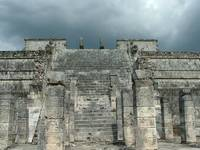 Chichen Itza Temple Front
