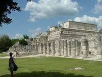 Chichen Itza Temple Angle