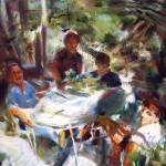 """Patio Lunch"" by dornberg"