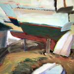 """""""Stored Boats and Dinghies"""" by dornberg"""