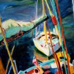 """Tethered Sailboat"" by dornberg"