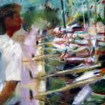 """""""Race Boats Docked"""" by dornberg"""