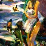 """Girl with Towel"" by dornberg"