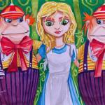 """ALICE IN WONDERLAND Tweedle-dum Tweedle-dee"" by GORDONBRUCEART"