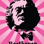 """""""Beethoven on Pink"""" by billfehr"""