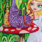 """ALICE IN WONDERLAND the caterpillar"" by GORDONBRUCEART"