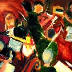 """Orchestra in Abstract"" by dornberg"