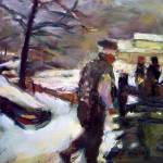 """""""Plowing the Driveway"""" by dornberg"""