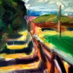 """Shadows on the Fence"" by dornberg"