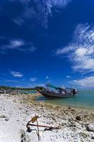Thai beach and boat