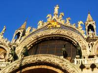 The Angels of St. Mark in Venice