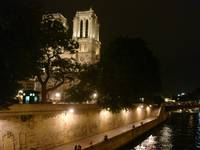 Notre Dame Cathedral and the Seine