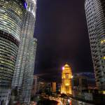 """light trail ampang"" by izamree"