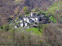 Village of Corippo, Ticino