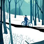 """Winter Bike"" by mickwiggins"