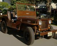 Brown Willy's Jeep