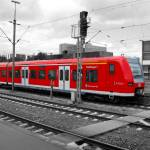 """Colored Trains"" by Picturistic"
