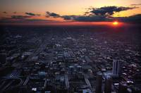 Sunset from Sears Tower