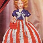 """Miss U.S.A., 1952 crochet book (public domain)"" by arcaniumantiques"