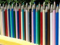 Giant Coloured Pencils