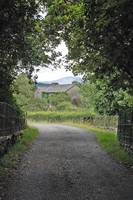 entrance to Hilltop , Sawry Farm ;